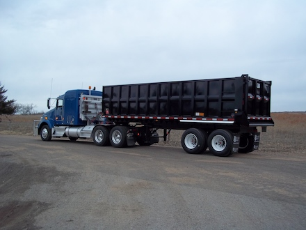 Neville Built End Dump Trailers–NEW ITEM!